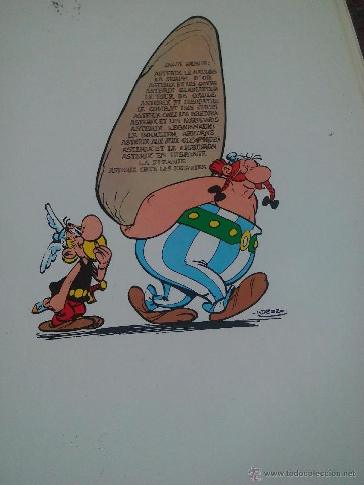 Cómics: une aventure d'asterix le gaulois chez les helvetes 1970.dragaud .frances - Foto 7 - 52132502