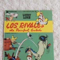 Comics : UNA AVENTURA DE LUCKY LUKE - LOS RIVALES DE PAINFUL GULCH N. 33. Lote 52161510