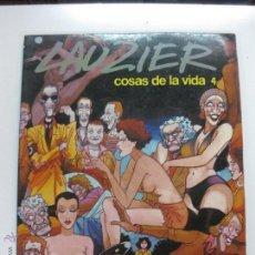 Cómics: LAUZIER COSAS DE LA VIDA 4. GRIJALBO / DARGAUD 1984.. Lote 52495734