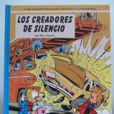 Cómics: LOS CREADORES DE SILENCIO SPIROU. Lote 52493777