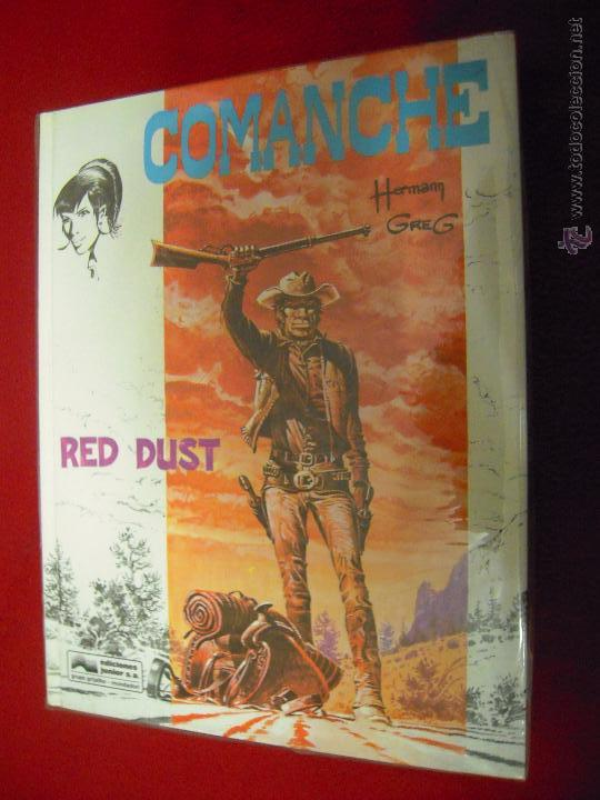 COMANCHE COLECCION COMPLETA 5 COMICS - HERMANN & GREG & ROUGE - ED. JUNIOR - CARTONE (Tebeos y Comics - Grijalbo - Comanche)