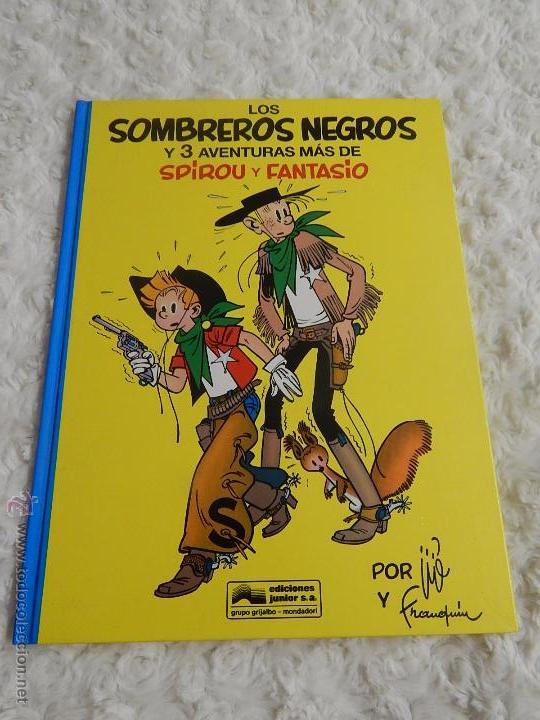 LOS SOMBREROS NEGROS Y 3 AVENTURAS MAS DE SPIROU Y FANTASIO N. 31 (Tebeos y Comics - Grijalbo - Spirou)