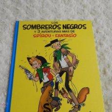 Fumetti: LOS SOMBREROS NEGROS Y 3 AVENTURAS MAS DE SPIROU Y FANTASIO N. 31. Lote 162369204