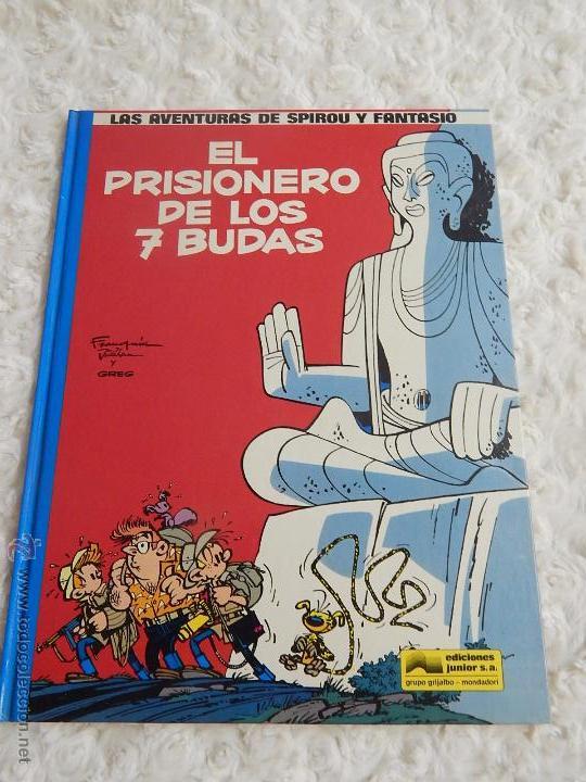 LAS AVENTURAS DE SPIROU Y FANTASIO EL PRISIONERO DE LOS 7 BUDAS N. 12 (Tebeos y Comics - Grijalbo - Spirou)