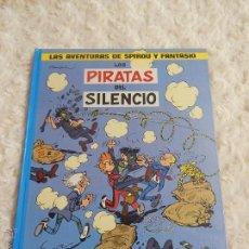 Cómics: LAS AVENTURAS DE SPIROU Y FANTASIO LOS PIRATAS DEL SILENCIO N. 8. Lote 207195872