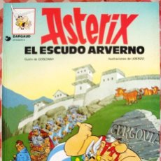 Fumetti: COMIC ASTERIX TAPAS BLANDAS NUMERO 11 EL ESCUDO ARVERNO. Lote 52704611