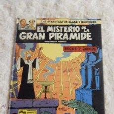 Cómics: LAS AVENTURAS DE BLAKE Y MORTIMER - EL MISTERIO DE LA GRAN PIRAMIDE N.2 SEGUNDA PARTE . Lote 107314119