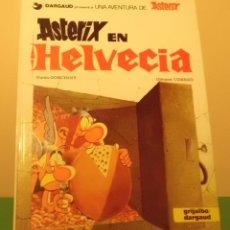 Cómics: ASTERIX EN HELVECIA GOSCINNY-UDERZO EDIT. GRIJALBO/DARGAUD TAPA DURA AÑO 1983 EXCELENTE. Lote 52755900