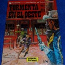 Cómics: TORMENTA EN EL OESTE - UNA AVENTURA DEL TENIENTE BLUEBERRY - GRIJALBO (1982). Lote 53173885