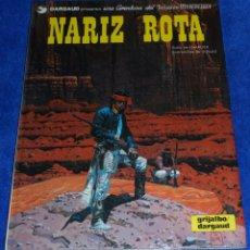 Cómics: NARIZ ROTA - UNA AVENTURA DEL TENIENTE BLUEBERRY - GRIJALBO (1981). Lote 53173887