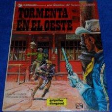 Cómics: TORMENTA EN EL OESTE - UNA AVENTURA DEL TENIENTE BLUEBERRY - GRIJALBO (1982). Lote 53173888