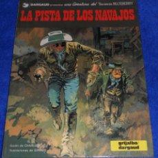 Cómics: LA PISTA DE LOS NAVAJOS - UNA AVENTURA DEL TENIENTE BLUEBERRY - GRIJALBO (1983). Lote 118136315