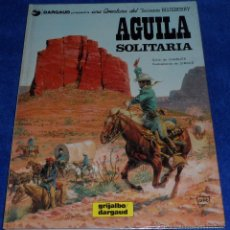 Cómics: AGUILA SOLITARIA - UNA AVENTURA DEL TENIENTE BLUEBERRY - GRIJALBO (1982). Lote 53173896