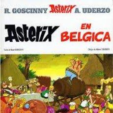 Cómics: ASTERIX EN BELGICA 1986 GRIJALBO DARGAUD TAPA DURA. Lote 53176442