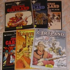 Cómics: JONATHAN CARTLAND.LOTE 6 TOMOS. LAURENCE HARLE/BLANC-DUMONT.. Lote 53224389