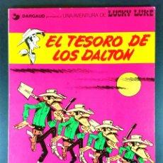 Cómics: UNA AVENTURA DE LUCKY LUKE: EL TESORO DE LOS DALTON /MORRIS & GOSCINNY / Nº19 GRIJALBO-DARGAUD 1982. Lote 53228956