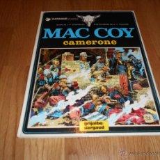 Cómics: MAC COY Nº 11. CAMERONE. GRIJALBO 1983. DIFÍCIL!!!!!!!! PERFECTO FONDO ALAMCEN. Lote 53238782