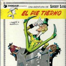 Cómics: MORRIS - LUCKY LUKE Nº 4 - EL PIE TIERNO - ED. JUNIOR 1977, PRIMERA EDICION ESPAÑOLA - SUFRIDO. Lote 53500784