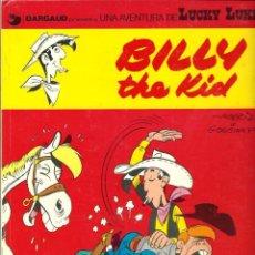Cómics: MORRIS - LUCKY LUKE Nº 14 - BILLY THE KID - GRIJALBO DARGAUD 1980, 1ª EDICION, BIEN CONSERVADO. Lote 53501226
