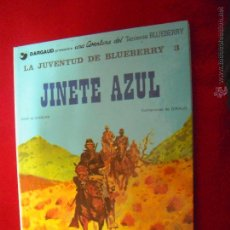 Cómics: BLUEBERRY 14 - JINETE AZUL - CHARLIER & GIRAUD- CARTONE. Lote 53510151