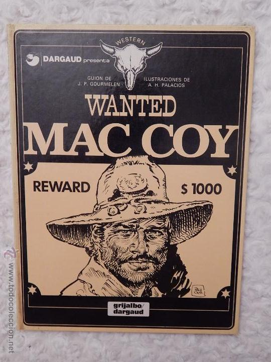 MAC COY - WANTED N. 5 (Tebeos y Comics - Grijalbo - Mac Coy)