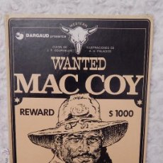 Cómics: MAC COY - WANTED N. 5. Lote 94719612