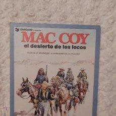 Cómics: MAC COY - EL DESIERTO DE LOS LOCOS N. 14. Lote 53579005