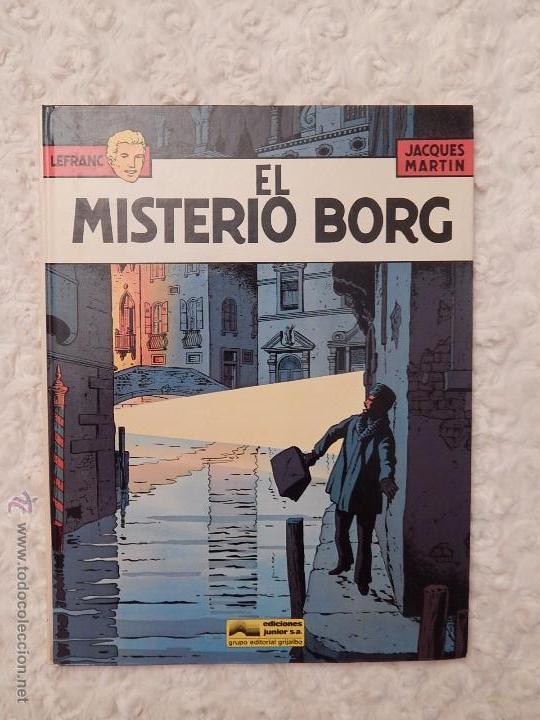 LEFRANC - EL MISTERIO BORG N. 3 (Tebeos y Comics - Grijalbo - Lefranc)