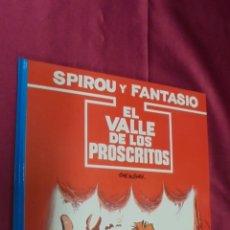 Cómics: LAS AVENTURAS DE SPIROU Y FANTASIO. Nº 27. EL VALLE DE LOS PROSCRITOS. GRIJALBO.. Lote 53588655