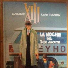 Cómics: LA NOCHE DEL 3 DE AGOSTO - VAN HAMME Y VANCE - GRIJALBO. Lote 53723535