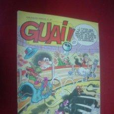 Cómics: REVISTA GUAI! Nº 57. Lote 53802676