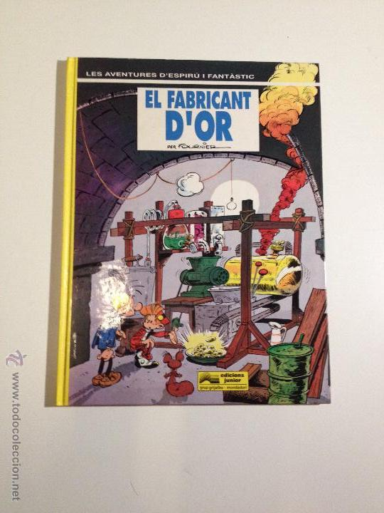 SPIROU ESPIRU Nº 33. EL FABRICANT D OR. FOURNIER. EN CATALAN. EDICIONES JUNIOR. (Tebeos y Comics - Grijalbo - Spirou)