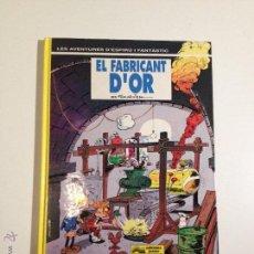 Cómics: SPIROU ESPIRU Nº 33. EL FABRICANT D OR. FOURNIER. EN CATALAN. EDICIONES JUNIOR.. Lote 53840135