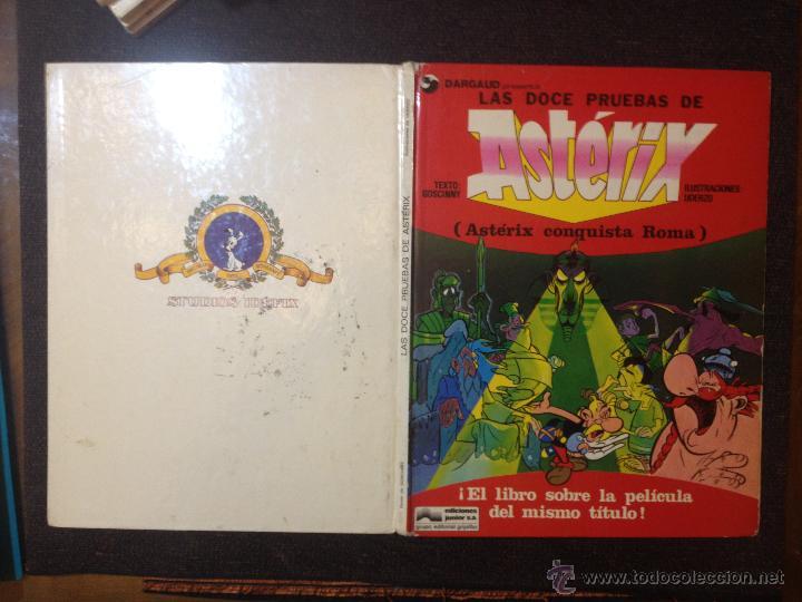 Las Doce Pruebas De Asterix - Grijalbo Junior 1