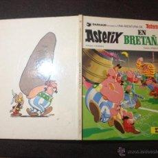 Cómics: ASTERIX EN BRETAÑA Nº 12 - GRIJALBO DARGAUD 1985 - MUY BUEN ESTADO - REPASADO SIN SORPRESAS. Lote 53855371