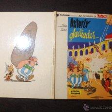 Cómics: ASTERIX GLADIADOR Nº 4 - GRIJALBO DARGAUD 1984 - MUY BUEN ESTADO - REPASADO SIN SORPRESAS. Lote 53855497