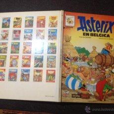 Cómics: ASTERIX EN BELGICA Nº 24 - GRIJALBO DARGAUD 1987 - PERFECTO ESTADO - REPASADO SIN SORPRESAS. Lote 53856257