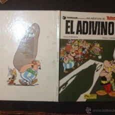 Cómics: ASTERIX EL ADIVINO - GRIJALBO JUNIOR 1978 - BUEN ESTADO - REPASADO SIN SORPRESAS. Lote 53862081
