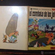 Cómics: ASTERIX EL COMBATE DE LOS JEFES - GRIJALBO JUNIOR 1978 - BUEN ESTADO - REPASADO SIN SORPRESAS. Lote 53862162