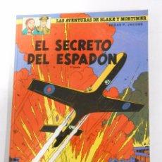Cómics: LAS AVENTURAS DE BLAKE Y MORTIMER - Nº 9 - EL SECRETO DEL ESPADON. EDGAR P. JACOBS. TDKC3. Lote 53880179