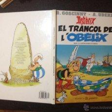 Cómics: ASTERIX EL TRANGOL D OBELIX - PLANETA JUNIOR 1996 - PERFECTO - SIN SORPRESAS - EN CATALÁN . Lote 53937363