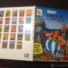 Cómics: ASTERIX OBELIX I COMPANYIA - Nº 23 - GRIJALBO DARGAUD 1989 - PERFECTO - SIN SORPRESAS - EN CATALÁN. Lote 53937603
