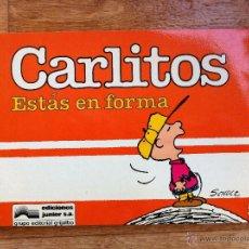 Cómics: CARLITOS Nº 05 - ESTAS EN FORMA - SCHULZ - EDICIONES JUNIOR - GRIJALBO - 1986. Lote 54039235