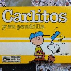 Cómics: CARLITOS Nº 06 - CARLITOS Y SU PANDILLA - SCHULZ - EDICIONES JUNIOR - GRIJALBO - 1986. Lote 54039259