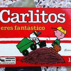 Cómics: CARLITOS Nº 10 - ERES FANTASTICO - SCHULZ - EDICIONES JUNIOR - GRIJALBO - 1988. Lote 54039382