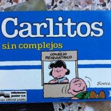 Cómics: CARLITOS Nº 11 - SIN COMPLEJOS - SCHULZ - EDICIONES JUNIOR - GRIJALBO - 1989. Lote 54039389