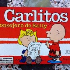Cómics: CARLITOS Nº 17 - CONSEJERO DE SALLY - SCHULZ - EDICIONES JUNIOR - GRIJALBO - 1991. Lote 54039455