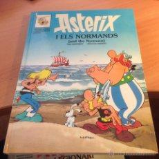 Cómics: ASTERIX I ELS NORMANDS (BILINGUE INGLES CATALAN) TAPA DURA (C0). Lote 54150332