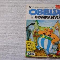 Cómics: UNA AVENTURA D'OBLIX I COMPANYIA DE GRIJALBO-DIARGAUD 1982 EN CATALAN. Lote 54158122
