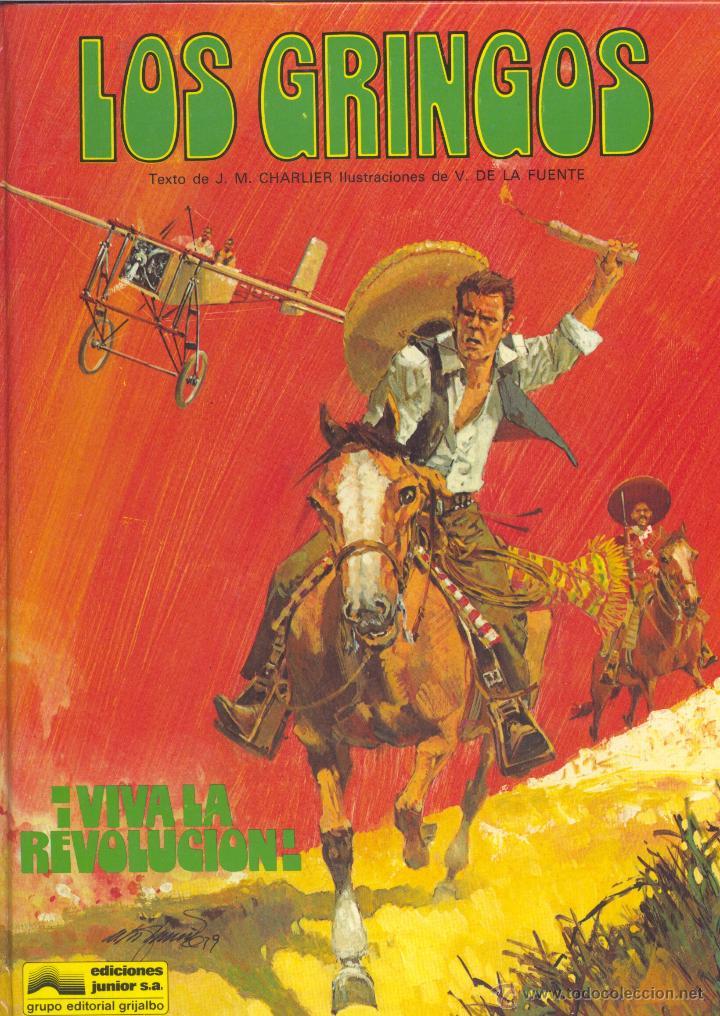 LOS GRINGOS Nº1. EDICIONES JUNIOR, 1980. DE CHARLIER Y VÍCTOR DE LA FUENTE. ¡UN CLÁSICO! (Tebeos y Comics - Grijalbo - Otros)